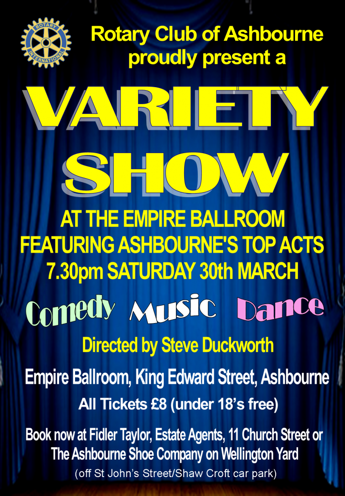 Variety Show Poster 2019